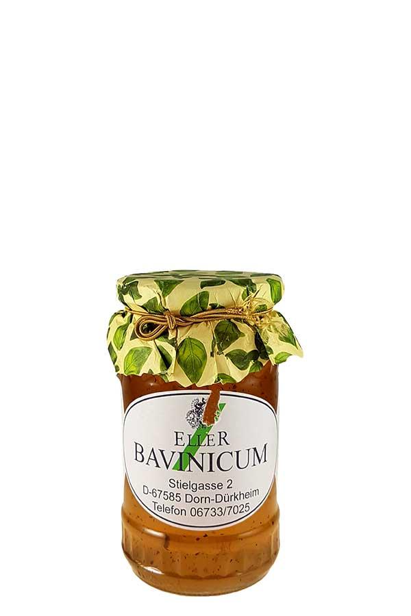 Weingelee aus Weißwein mit Basilikum - Bavinicum