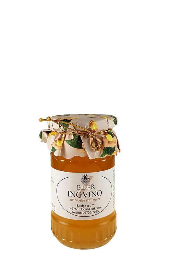 Weingelee aus Weißwein mit Ingwer - Ingvino