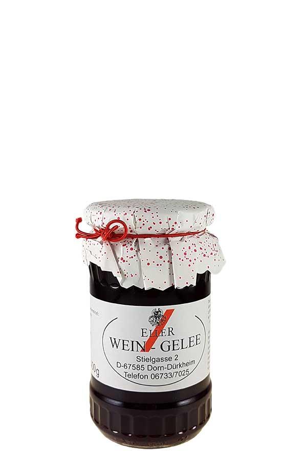 Weingelee aus Rotwein